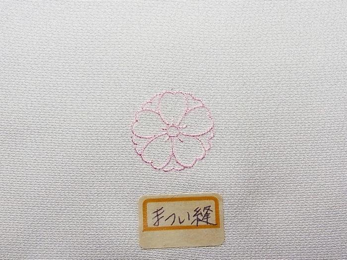 「悉皆」【女性用紋入れ替え加工】お仕立上りの一つ縫い紋入れ替え