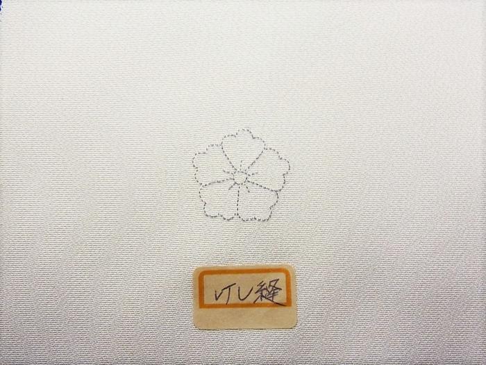 「悉皆」【女性用紋入れ替え加工】一つ縫い紋入れ替え(お仕立て上がりの着物)「けし縫い・又は通常の縫い紋」