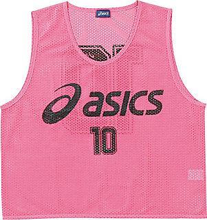 asics 【26%OFF】アシックス ビブス(10枚セット) 18 フラッシュピンク