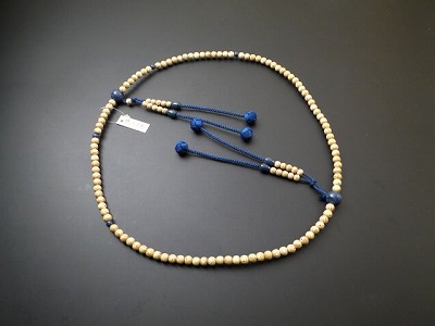 真言宗用本連(正式)数珠 星月菩提樹 ソーダライト仕立 尺2 利休房
