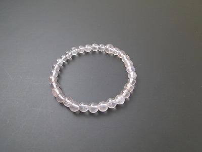 数珠 ブレス 紅水晶 6mm球(上)