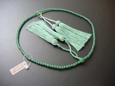 数珠 浄土真宗用 総アベン 8寸 正絹房