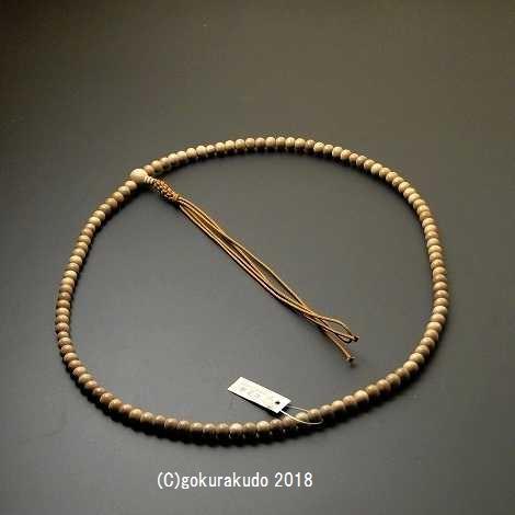 数珠 臨済宗 総白檀 尺2 正絹紐房