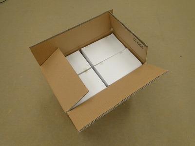 ごま線香 茶 バラ詰、ダンボール1ケース小箱12箱入り