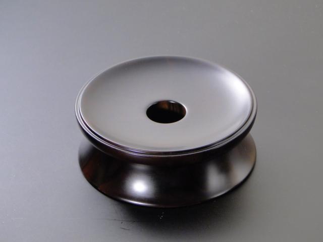 輪台/丸輪台(黒檀製) 4寸