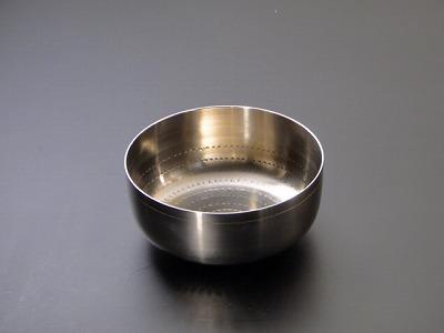 お輪(りん)/本焼 砂張(さわり・さはり) 5寸