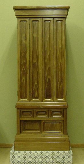 本桑仏壇尺四五 法華型
