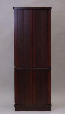 家具調台付仏壇ウオールナット45 (ブラウン色)RUNB45