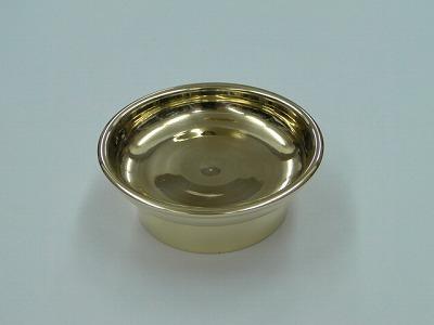 密教法具・前具/供物皿3寸