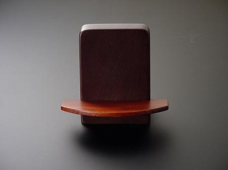 家具調向け見台(過去帳の台)ブラウン色(無垢材)