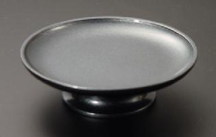 供物台・供物皿/カラフルな供物皿 金属製藍錆色