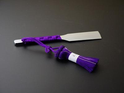 お剃刀(かみそり)(高級品)(高級正絹房付き)木箱入り、日本製(京都)