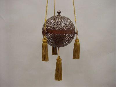 編み上げ型釣り香炉(床の間や玄関用などに)