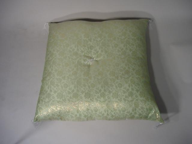 座布団、仏前座布団/紗生地 (夏用布団)うすい緑色