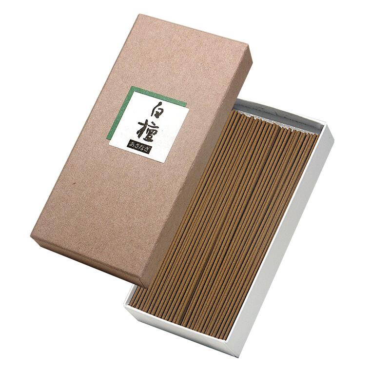 高級天然「白檀」を使用した本格的お線香です。オリジナルお線香です。天然白檀の香り独特のスッキリした香りが人気です。【煙の出るタイプのお線香】 【お線香】あさ凪 白檀★天然「白檀」配合のお線香本格的高級お線香天然香料配合 白檀 サンダルウッド 白檀線香 天然香料 香木配合線香