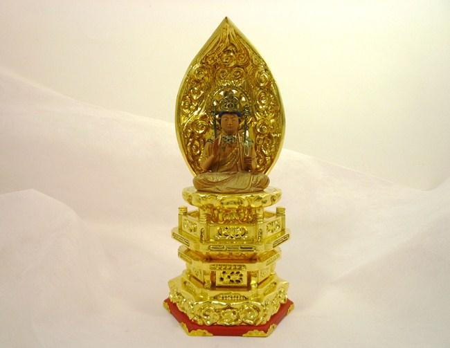 【仏像】聖観音菩薩(観音様)2寸日本製 木製/加耶材木製仏像 観音様 観音菩薩 特別価格仏像 訳あり仏像 アウトレット価格仏像