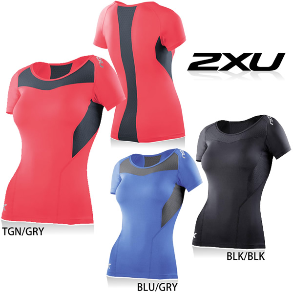 Golazo  2XU women s compression short sleeve top- women s 2xu compression  wear pressure short sleeve woman sports inner   016e1bc53
