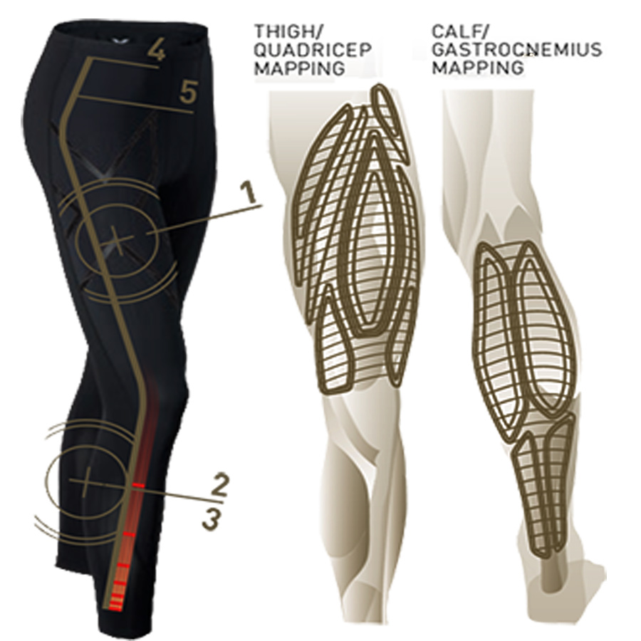 32121b7ba8a1f ... 2XU men's elite MCS compression tights (Elite MCS Compression Tights)  leggings ...