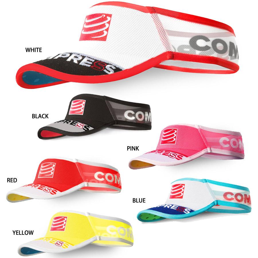 4743fc7628505d COMPRESSPORT (compare sports) high CAP VISOR (visor CAP) 151125 athlete  color running ...