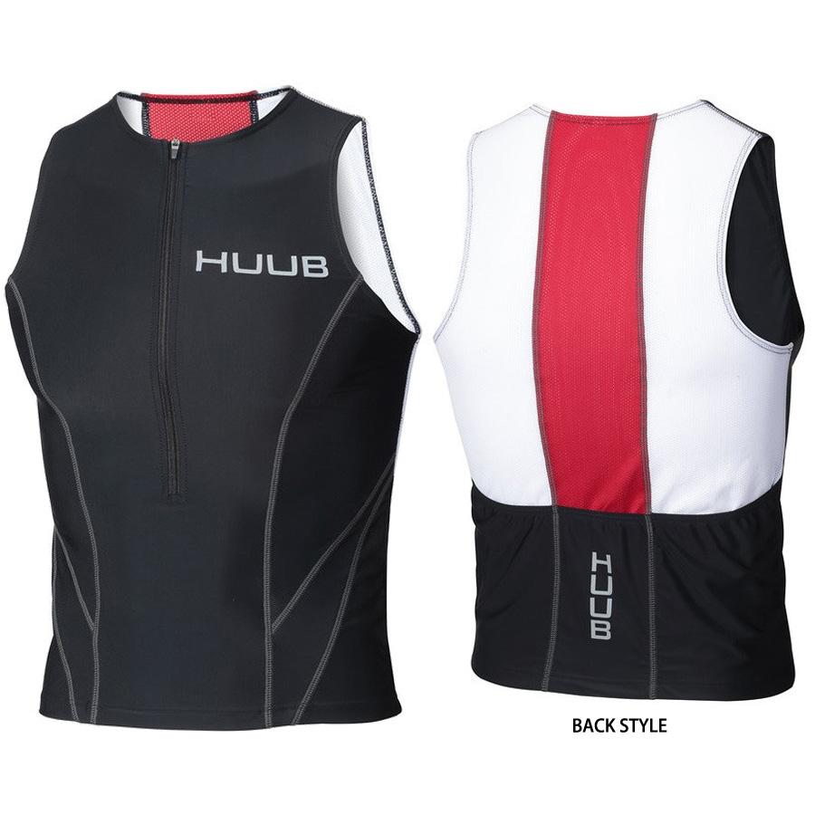 【メーカー在庫商品】HUUB(フーブ) ESSENTIAL TRI TOP(エッセンシャルTRIトップ) トライアスロン用シャツ【返品交換不可】