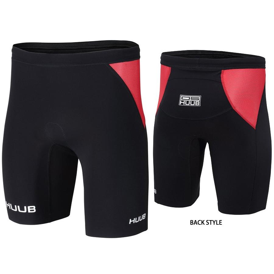 【メーカー在庫商品】HUUB(フーブ) DAVE SCOTT TRI SHORTS(DS TRIショーツ) トライアスロン用パンツ【返品交換不可】