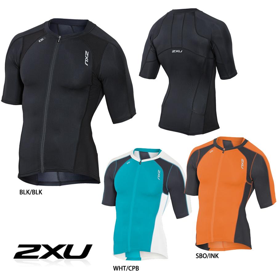 2XU 压缩长袖三顶 complessionsleevedo 三铁人三项赛男装