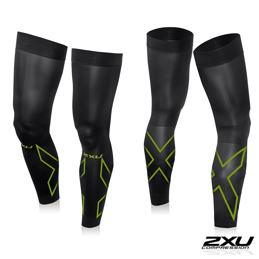 2XU (two times you) unisex compression Flex leg sleeve solid cutting fatigue recovery tights