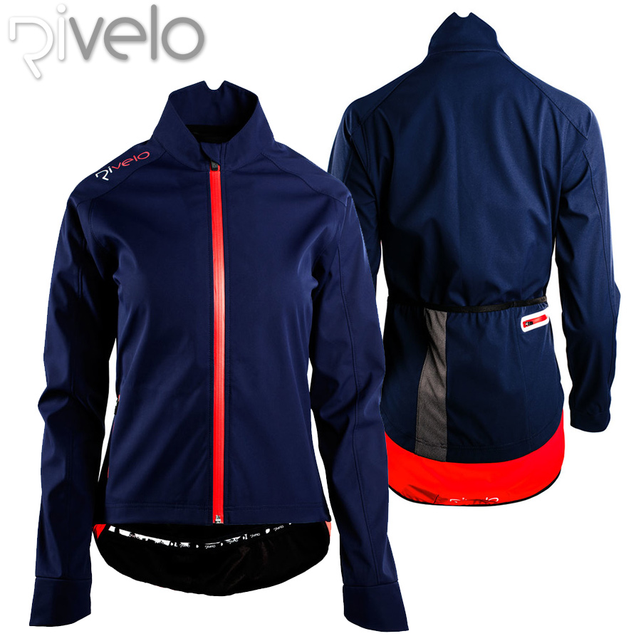 【メーカー在庫商品】Rivelo(リベロ) レディース ソフトシェル サイクリング ジャケット【返品交換不可】