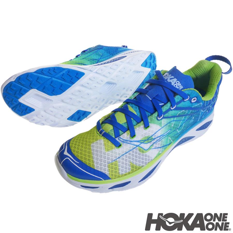 HOKA ONE ONE(ホカ オネオネ) ファカ2(Huaka 2) SPRING BUD / BLUE ランニング/トレイルシューズ