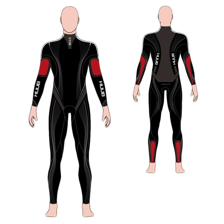 HUUB(フーブ) ALBACORE(アルバコア) ウェットスーツ トライアスロン用ウエットスーツ【返品交換不可】|HUUB最上位モデル