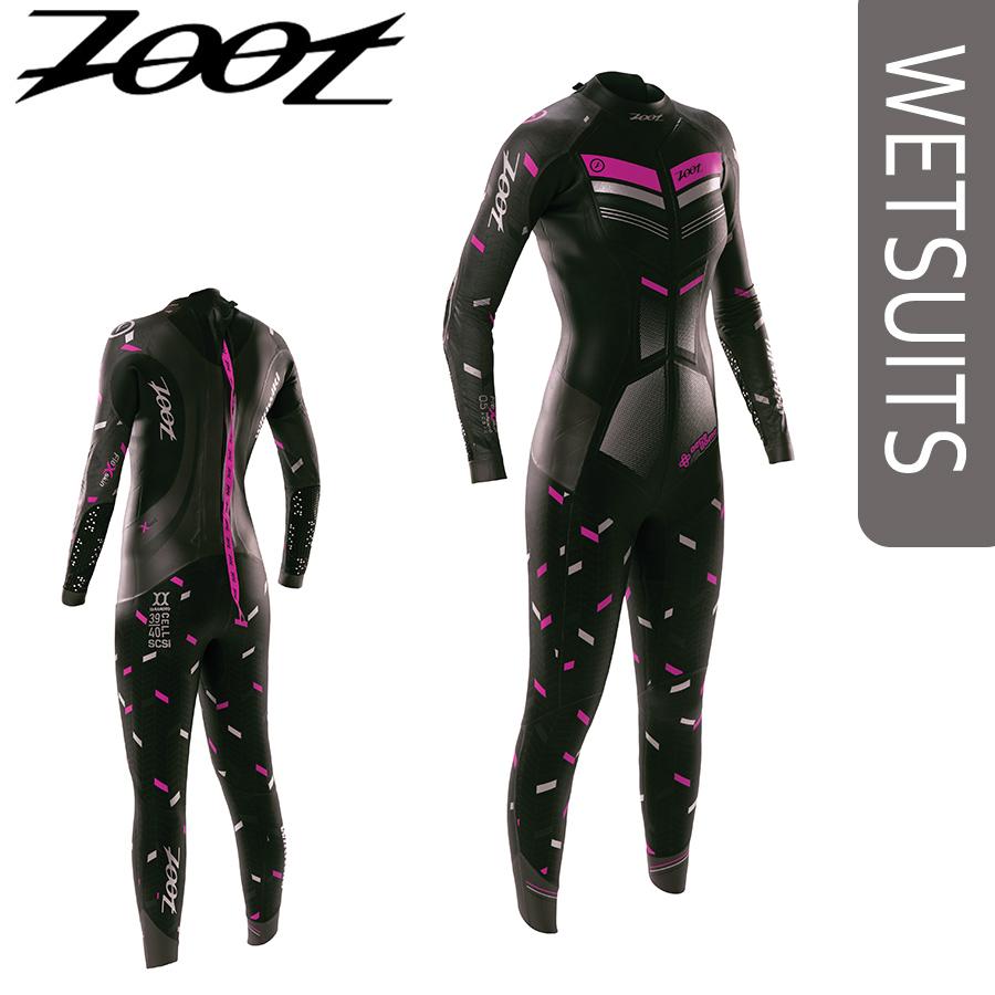 Zoot(ズート) レディース WIKIWIKI トライアスロン用ウエットスーツ トップモデルフルスーツモデル【返品交換不可】