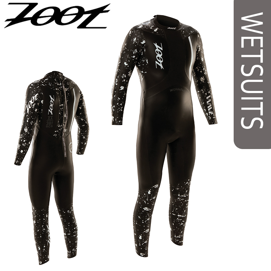 Wet suit full suits model for the Zoot (ズート) WAVE 1 triathlon