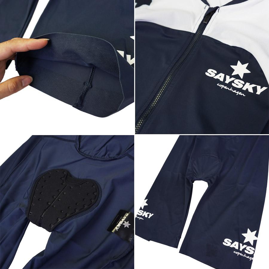 SAYSKY(说天)幻影TRI西服(供铁人拉力赛使用的短袖西服)