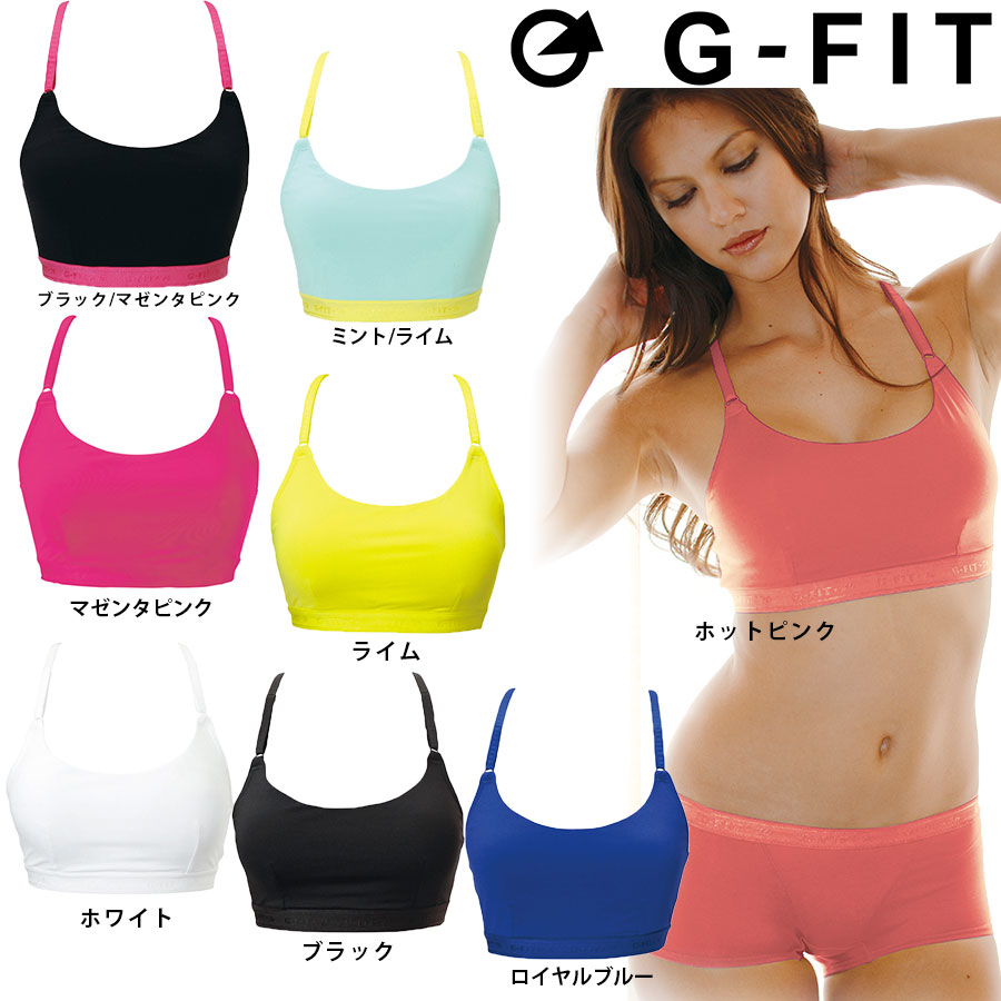 fc42fcb23 Golazo  G-FIT (G fitting) Y back inner (with a cup) sports bra GF ...