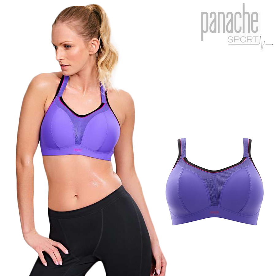 21935133dcc2b Golazo  PANACHE (panache) non wire sports bra purple