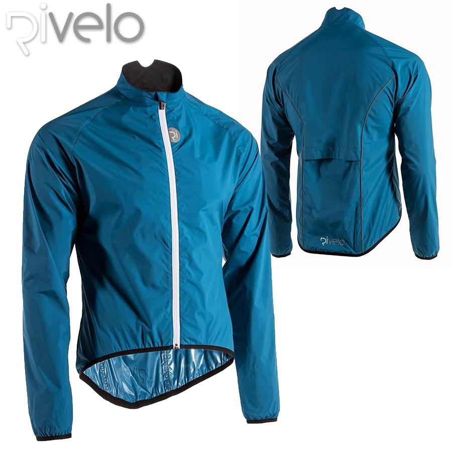 【メーカー在庫商品】Rivelo(リベロ) Norwood パッカブル サイクリング ジャケット【返品交換不可】