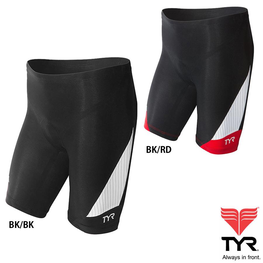TYR(ティア) カーボン TRI 9インチ丈ショーツ(トライアスロン用パンツ)シームレス製法のトップアスリートも支持するCARBONシリーズ【返品交換不可】