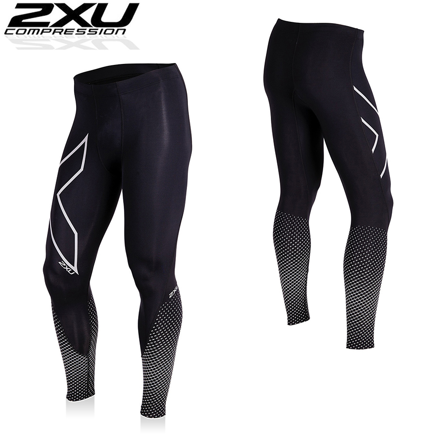 2XU REFLECT COMPRESSION TIGHT コンプレッション タイツ【返品交換不可】