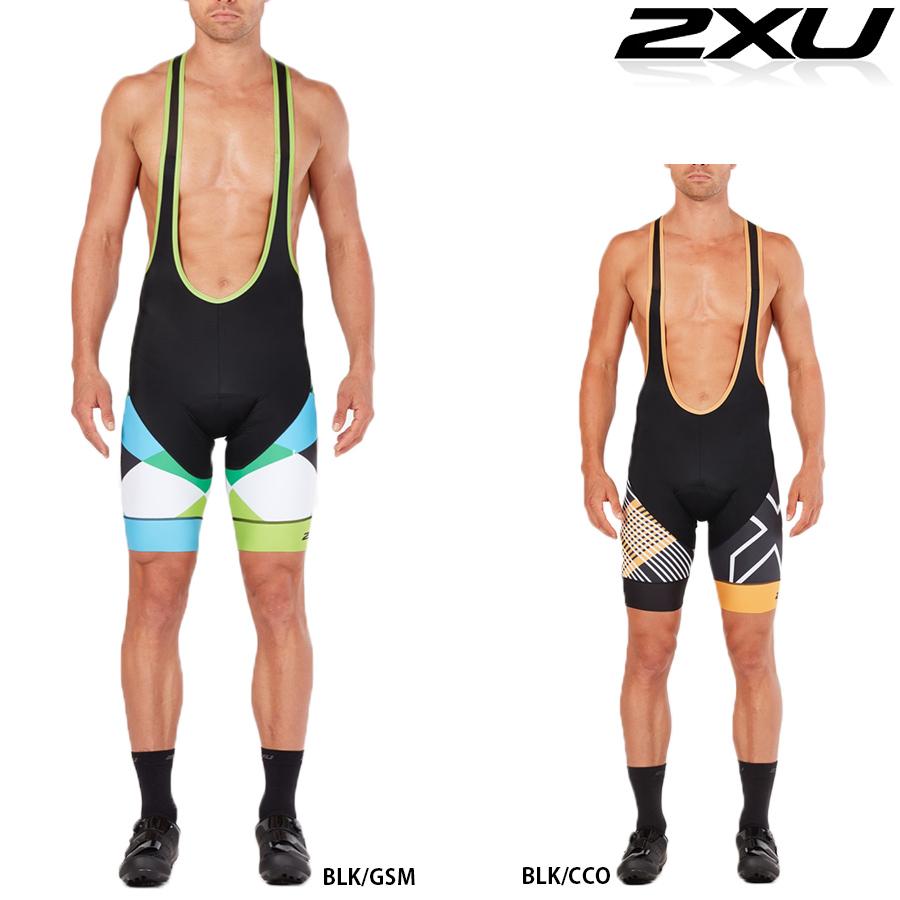 【メーカー在庫商品】2XU サブ サイクル ビブ ショーツ (サイクリングパンツ)【返品交換不可】