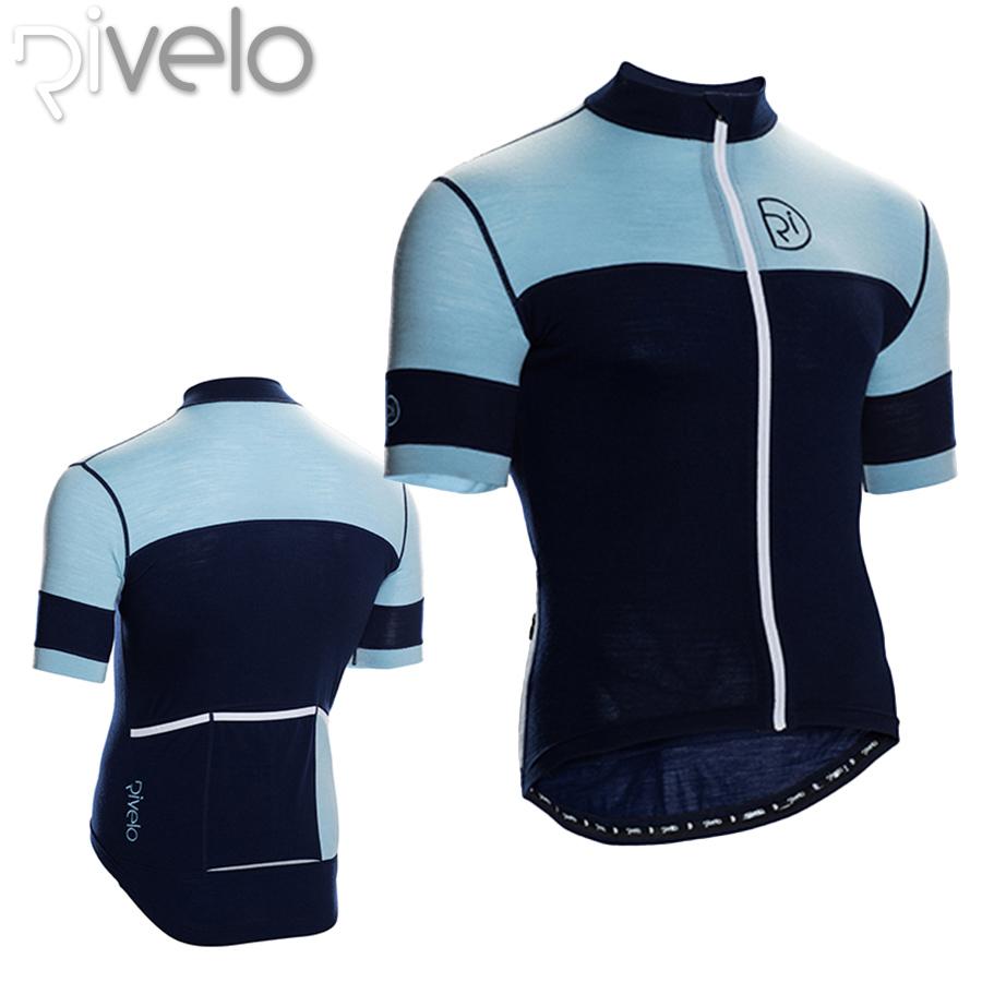Rivelo(リベロ) BARBONDALE バーボンデール メリノ サイクリング ジャケット(半袖ジャージ)【返品交換不可】
