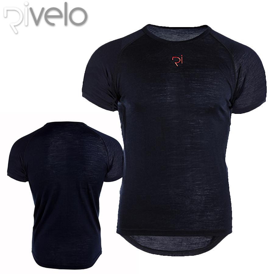 Rivelo(リベロ) BURRINGTON バリントン メリノ サイクリングシャツ(Tシャツ)