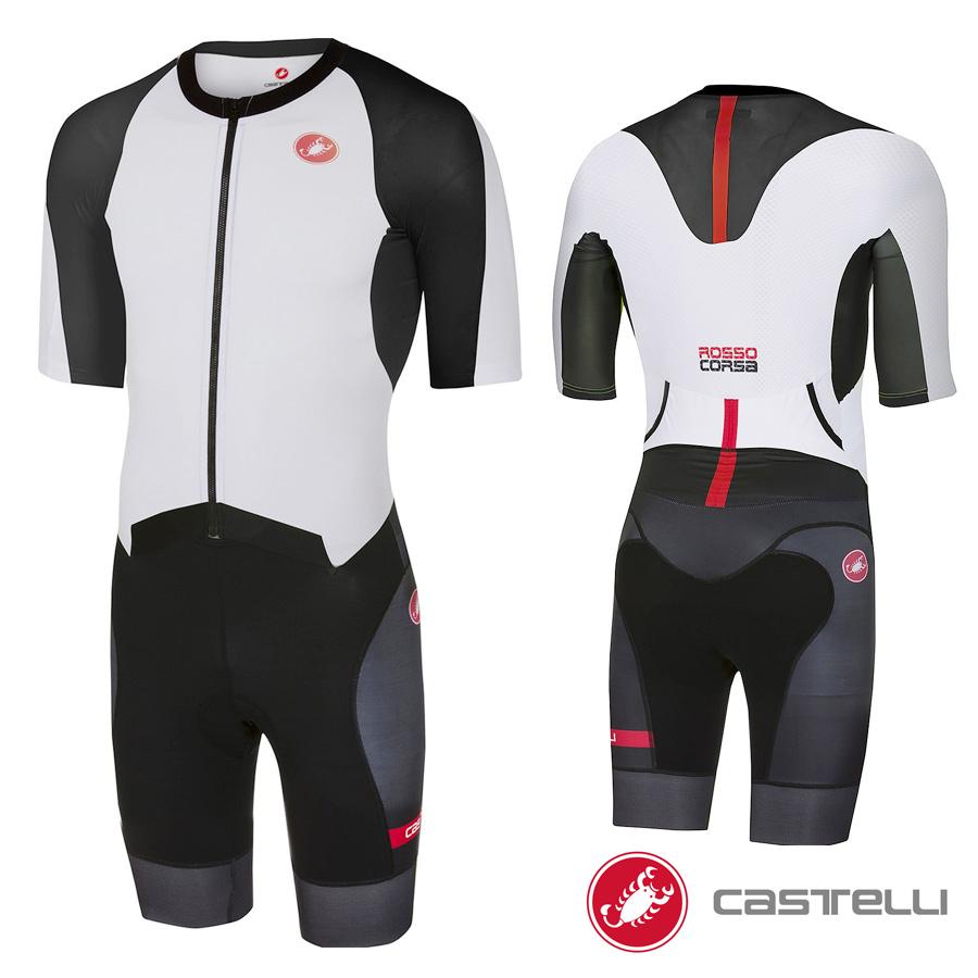 Castelli(カステリ) トライアスロンスーツ/トライスーツ(ALL OUT SPEED SUIT)