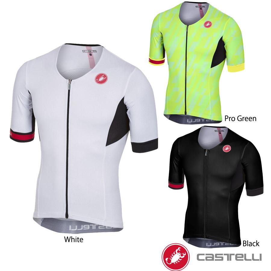 Castelli(カステリ) ショートスリーブ トライアスロントップス/トライトップス(FREE SPEED SHORT SLEEVE RACE JERSEY)
