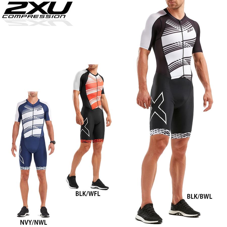 2XU COMPRESSION FULL ZIP SLEEVED TRISUIT compression full zip triathlon suit
