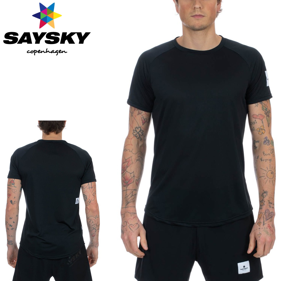SAYSKY(セイスカイ) ユニセックス メンズ レディース BLAZE SS LIGHT TEET ブリーズ ライトTシャツ(ランニングシャツ)【返品交換不可】
