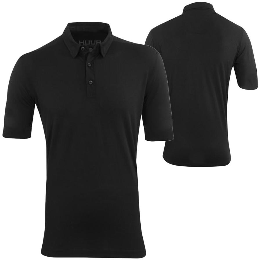 HUUB(フーブ) POLO SHIRT SHORT SLEEVE ショートスリーブポロシャツ (トレーニング用シャツ)【返品交換不可】