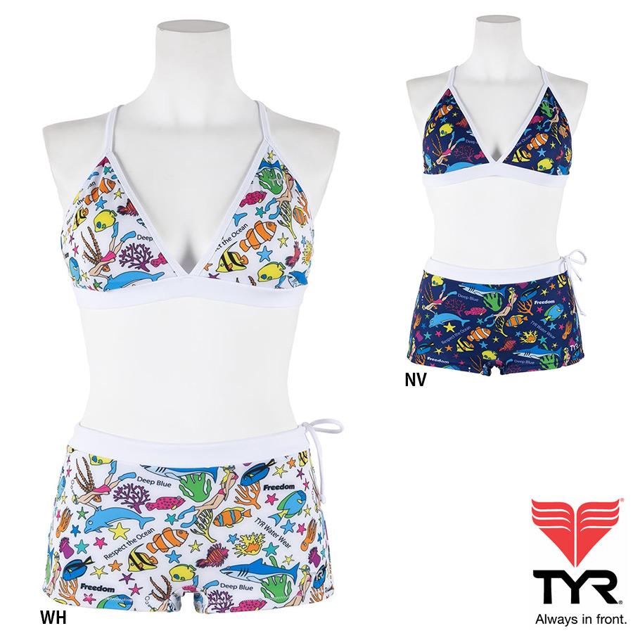 TYR(ティア) レディース SWIM WEAR 練習用水着 長時間の練習でも快適性を確保したスイムウエア