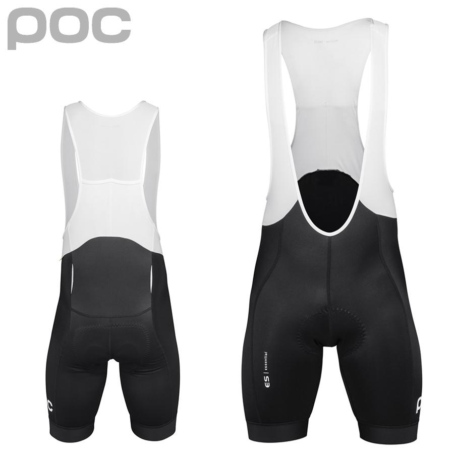 【在庫処分特価】POC(ポック) Essential Road Bib Shorts エッセンシャルビブショーツ (サイクルショーツ)【返品交換不可】
