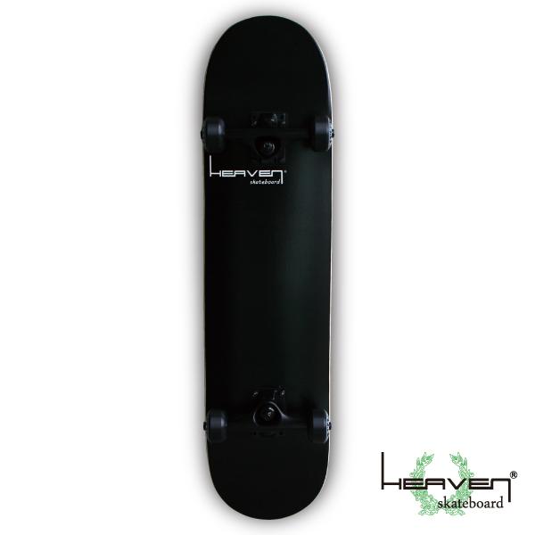 Vitamin 31×7.625 HEAVEN PERFECT SKATE COMPLETEカラー:ブラック BLACK1番人気のハイスペックモデル・サイズ 高品質 カナディアンメープル ヘブン スケボースケートボード コンプリート コンプリ