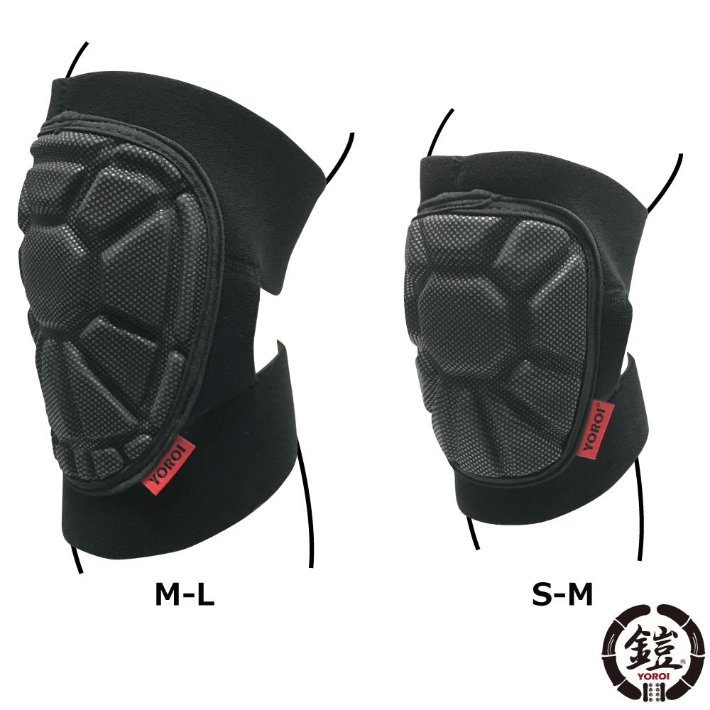 伸縮性のあるマジックボディと円形の靭帯ガードで 巻きつけるタイプ ラップタイプ 絶品 の構造なので 装着時も簡�です 期間限定で特別価格 YOROI PROTECTOR NJ 2個セット YR073 ヨロイプロテクター PAD ニーパット KNEE 膝